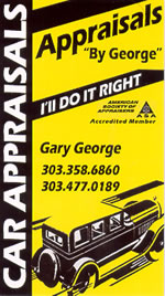 Car Appraisals by George